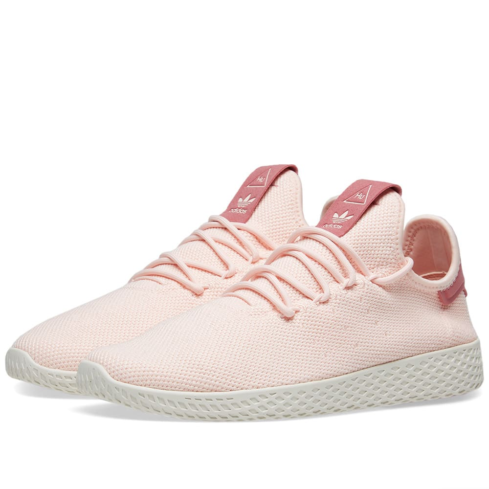 87eac4bb1e90e Adidas x Pharrell Williams Tennis HU W Icey Pink   Chalk White