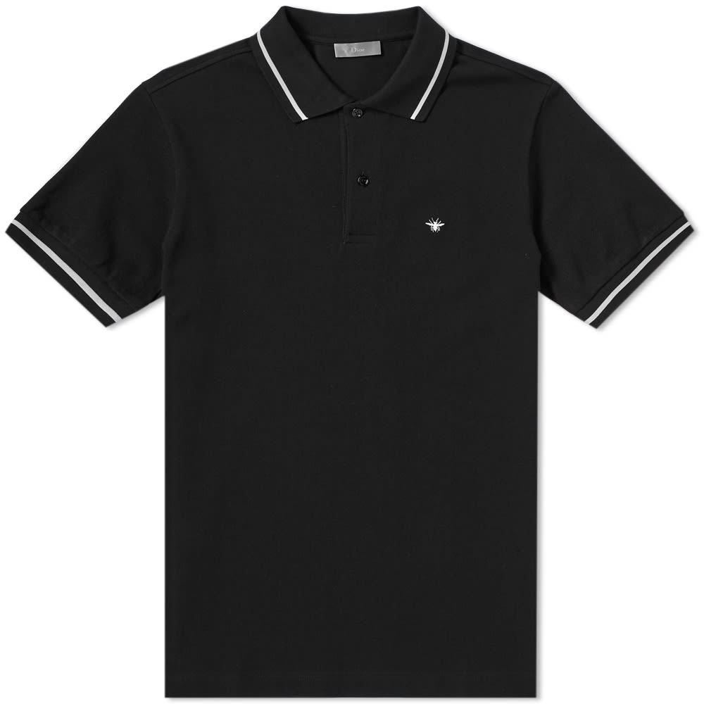 DIOR HOMME CLASSIC BEE POLO