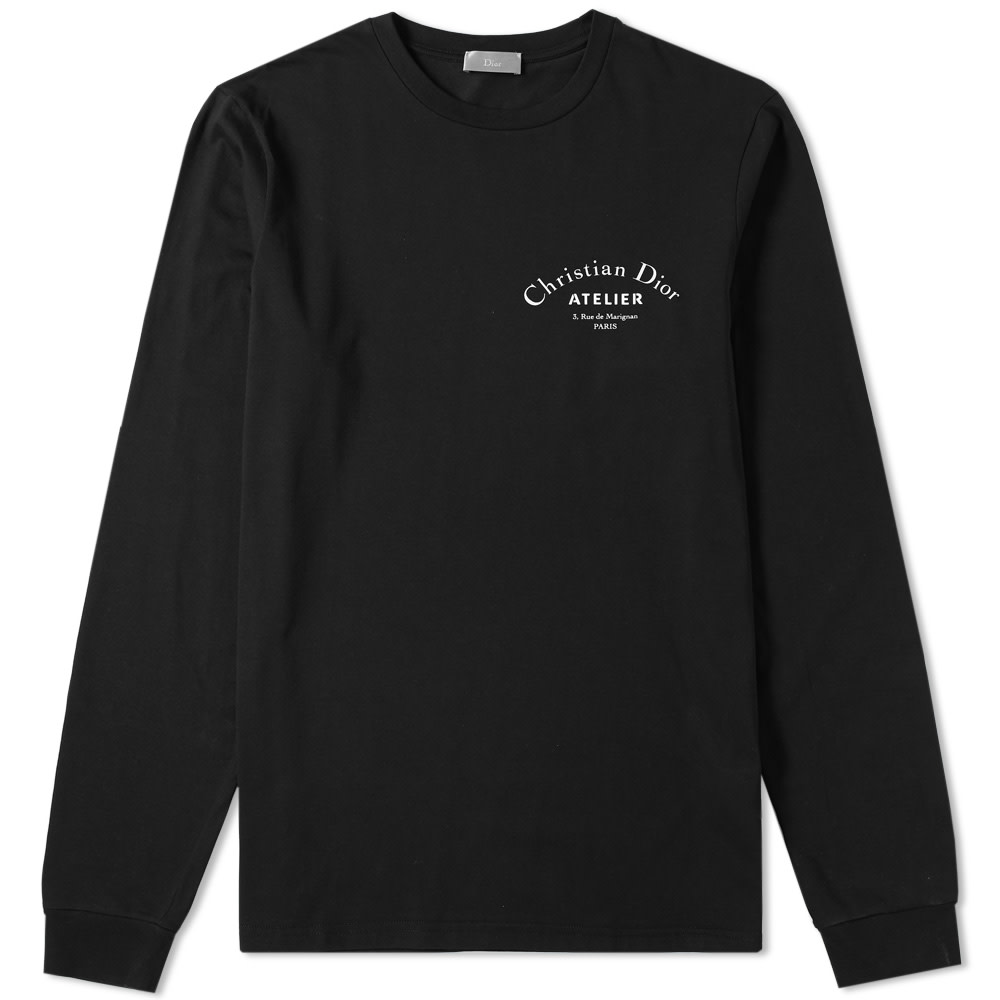 DIOR HOMME LONG SLEEVE ATELIER TEE
