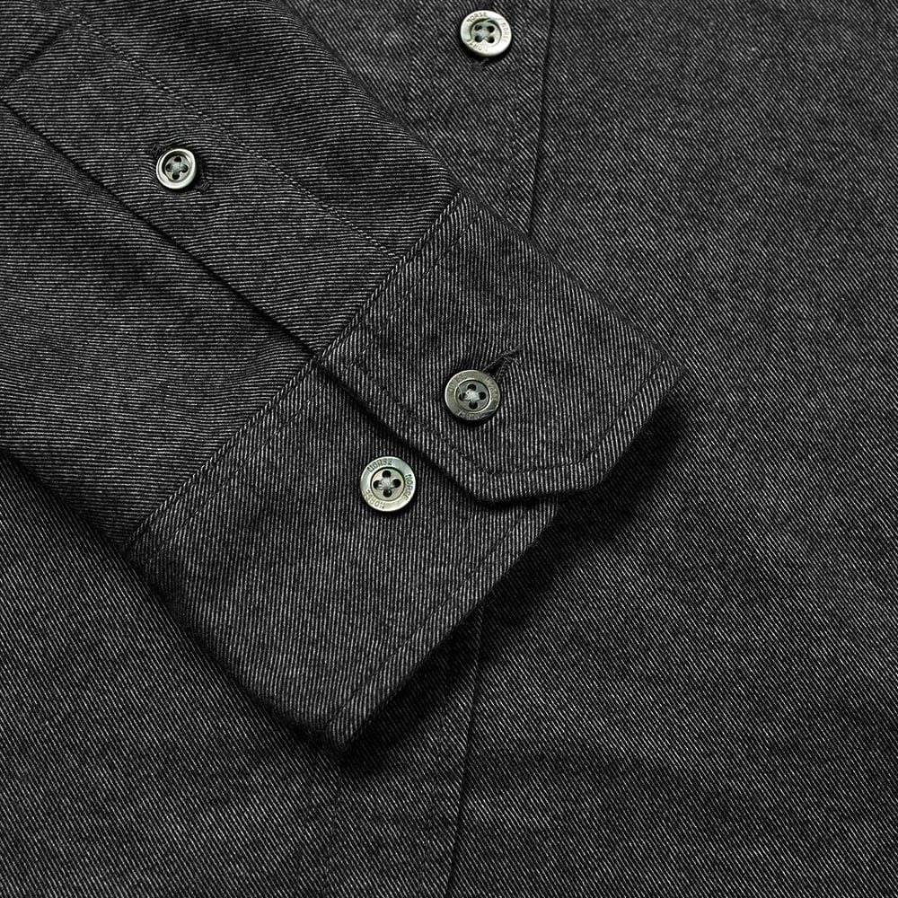 3eb9945f1a9 Norse Projects Anton Brushed Flannel Shirt Magnet Grey | END.