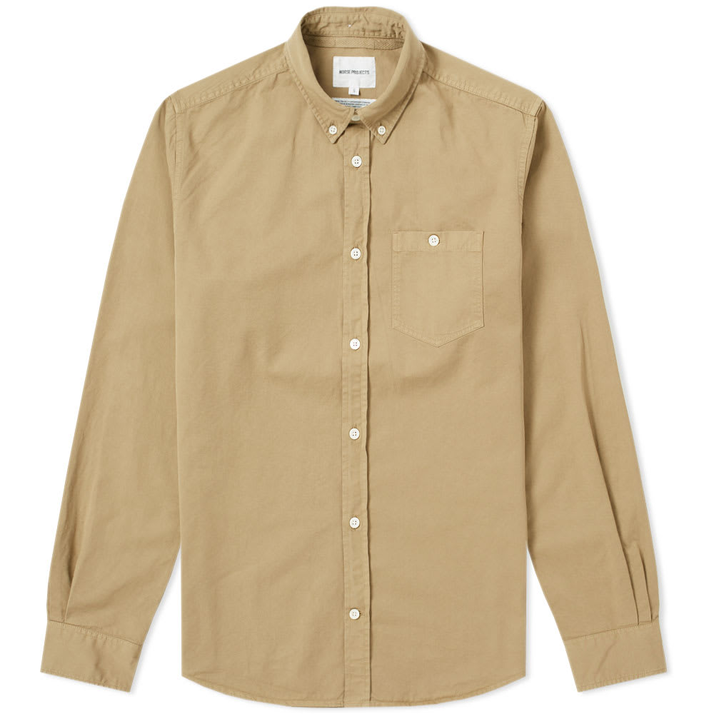 NORSE PROJECTS ANTON TWILL SHIRT