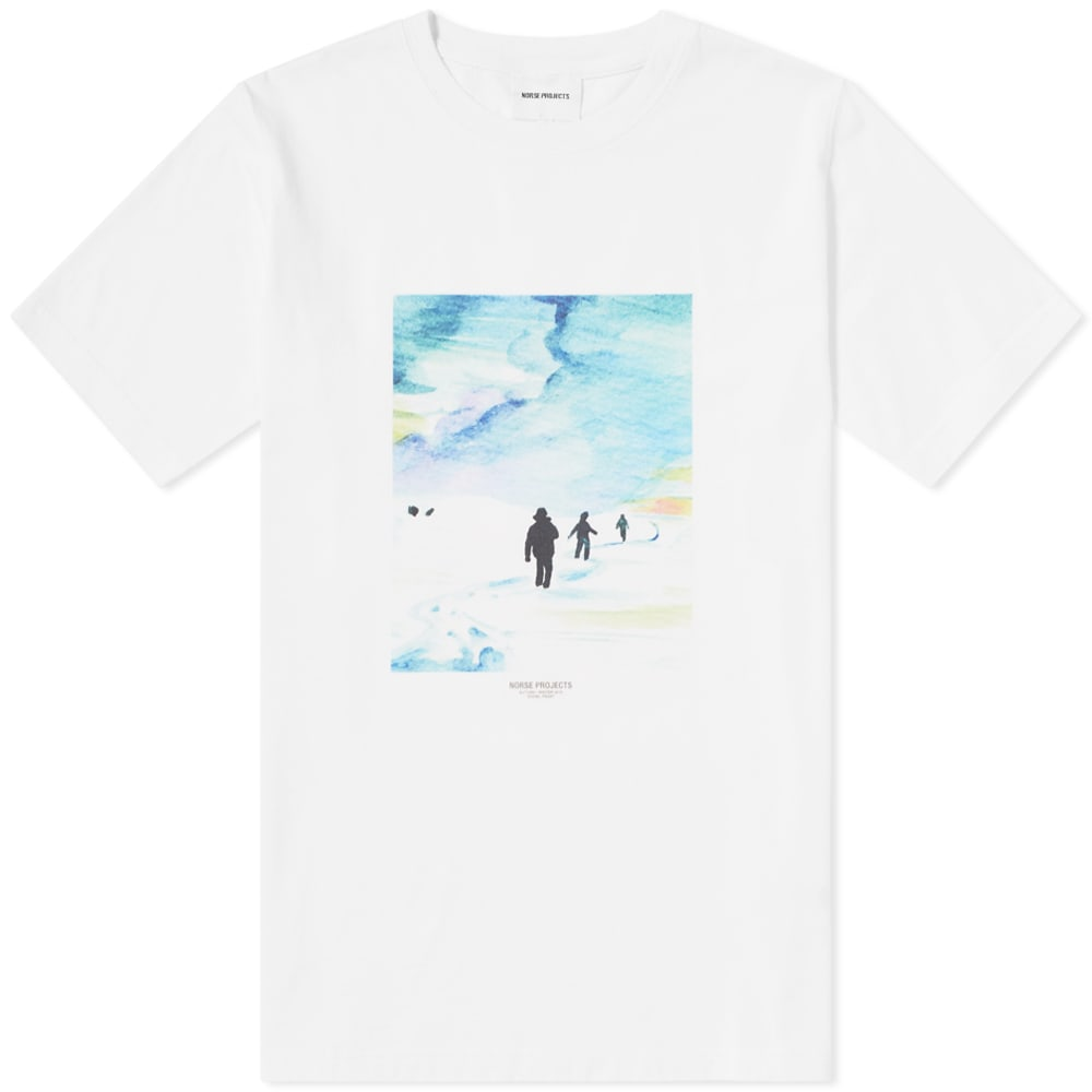 NORSE PROJECTS X DANIEL FROST TRAIL TEE