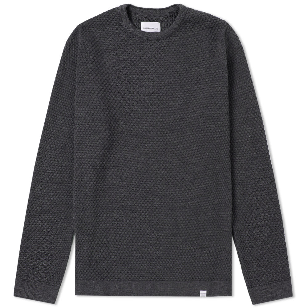 NORSE PROJECTS SKAGEN ALL OVER BUBBLE KNIT