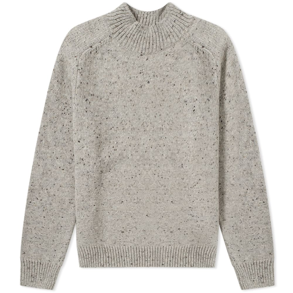 NORSE PROJECTS VIGGIO HIGH NECK NEPS CREW KNIT