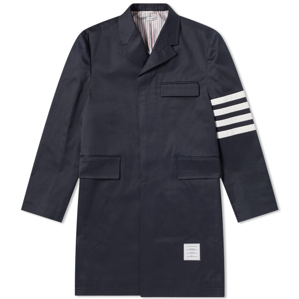 THOM BROWNE UNCONSTRUCTED CHESTERFIELD COAT