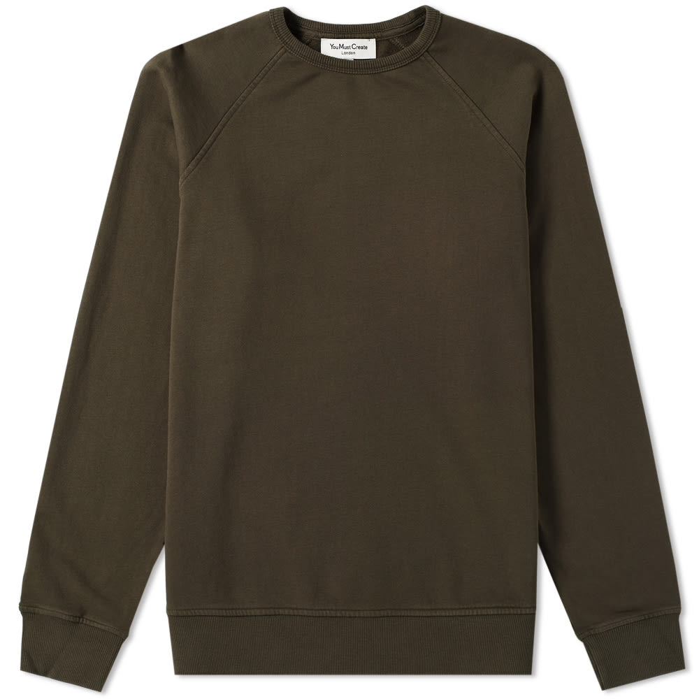 YMC YOU MUST CREATE YMC SCHRANK RAGLAN SWEAT