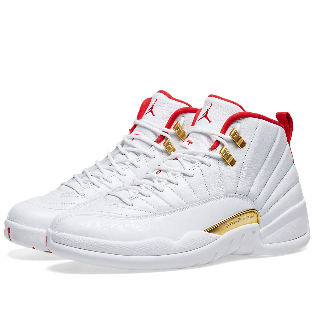 low cost size 40 online here Air Jordan XII Fiba 'China'