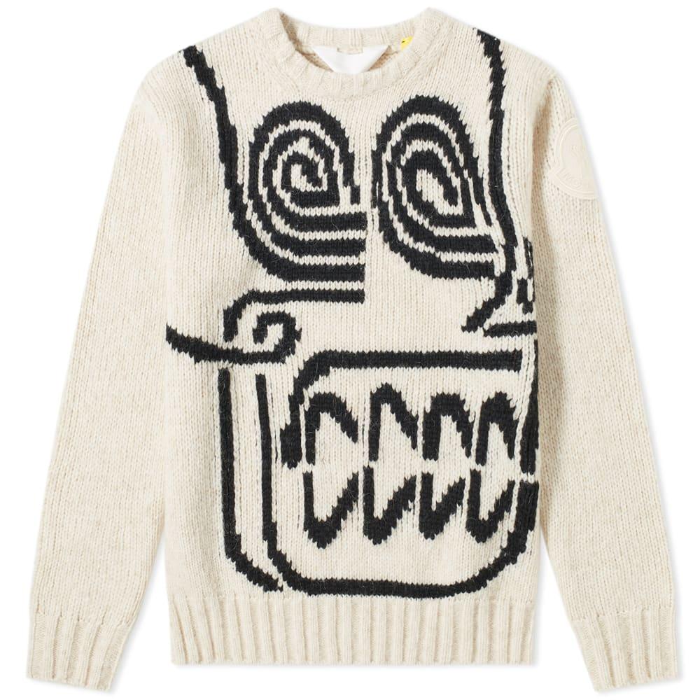 Moncler Genius - 2 Moncler 1952 - Skull Intarsia Chunky Knit