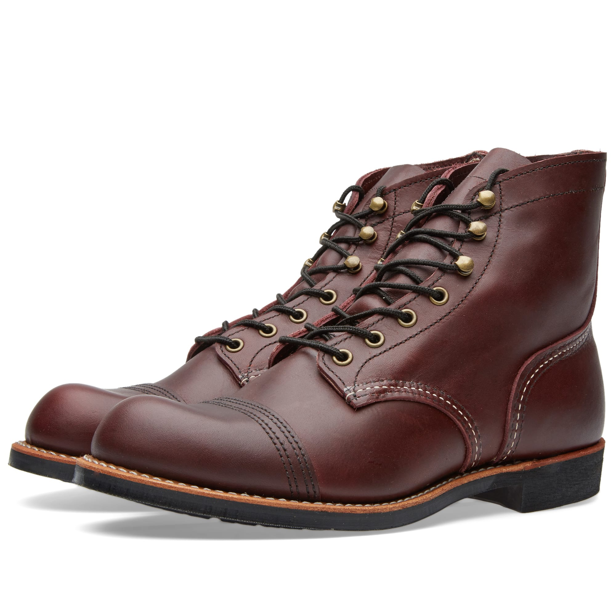 ботинки Red Wing Beckman Oxford Black Featherstone 3