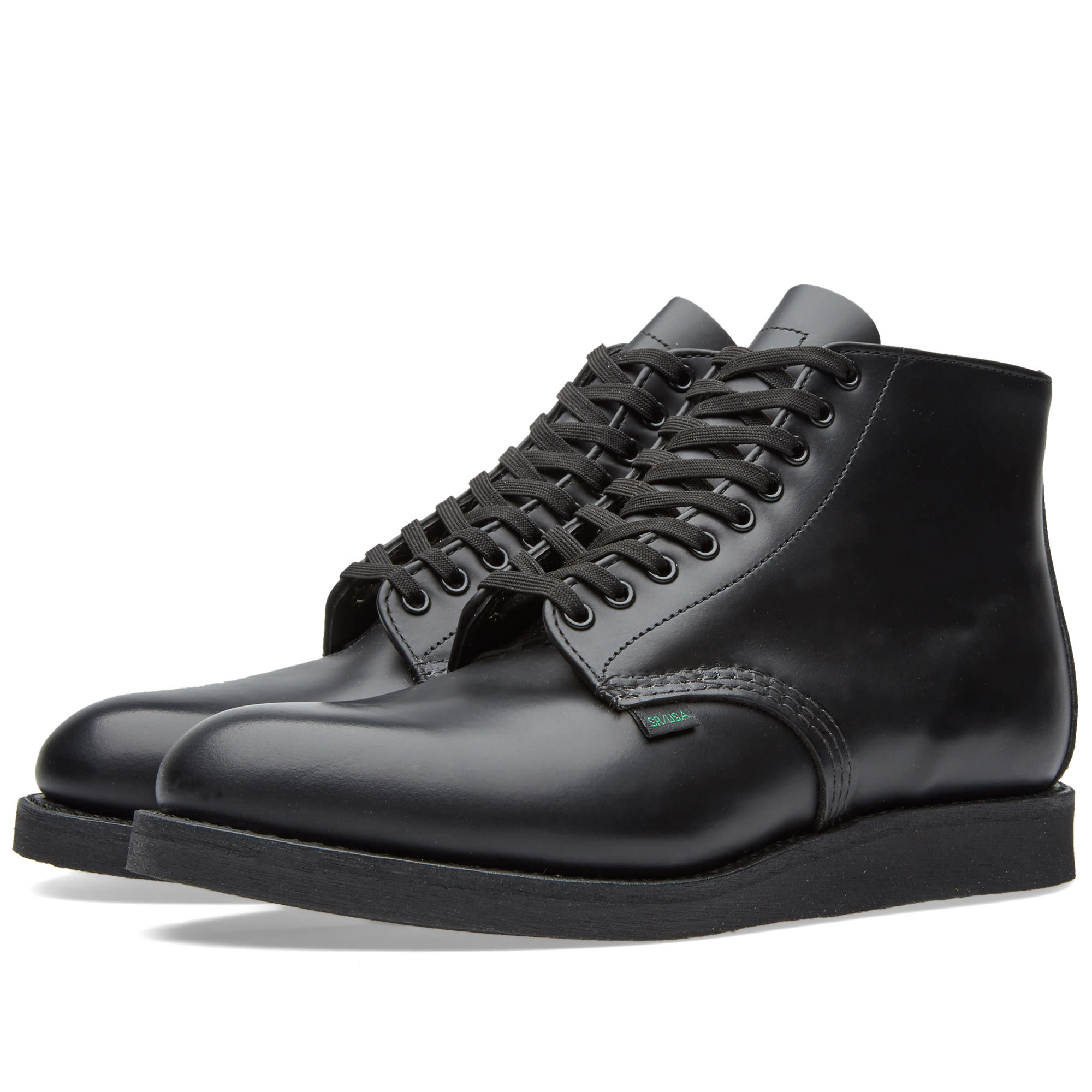 ботинки Red Wing Beckman Oxford Black Featherstone 88