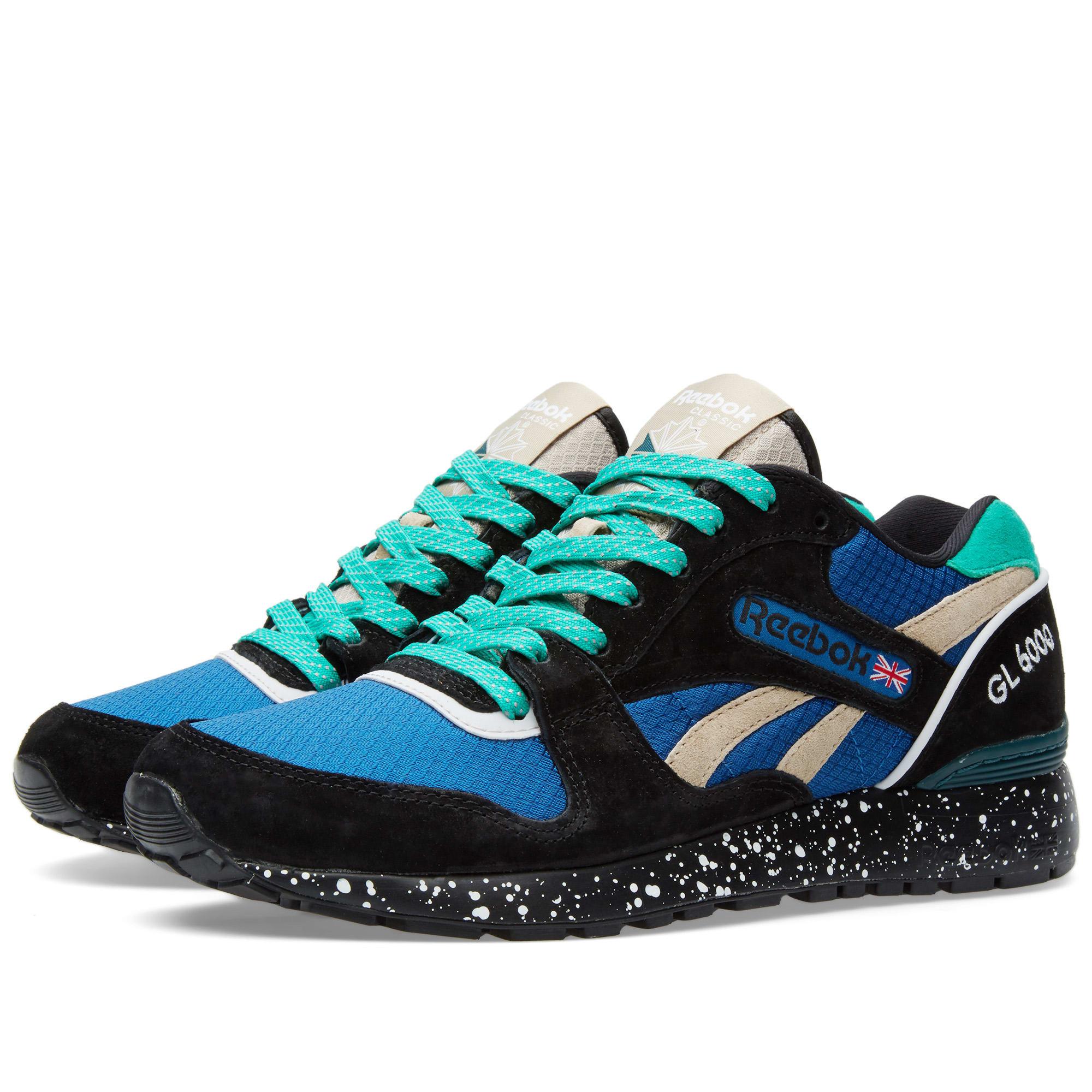 Reebok GL 6000 Trail Black \u0026 Handy Blue