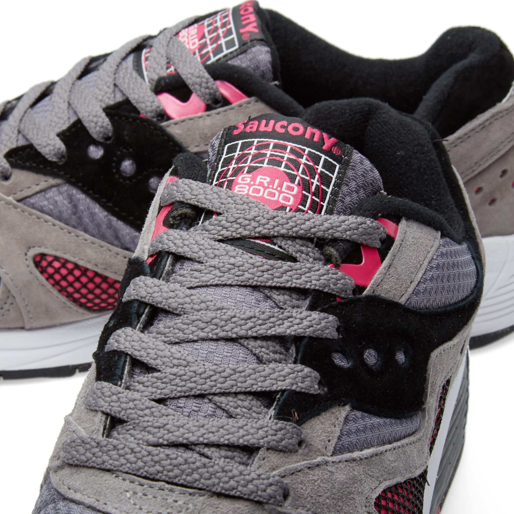 new york brand new quality Saucony Grid 8000 Premium Charcoal & Dark Grey | END.