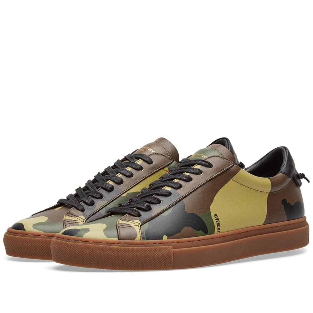 fb37f3951ca41 Givenchy Camo Classic Low Sneaker Camo | END.