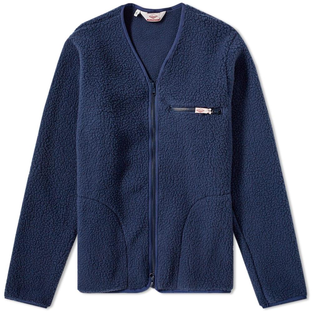 BATTENWEAR Battenwear Lodge Cardigan in Blue