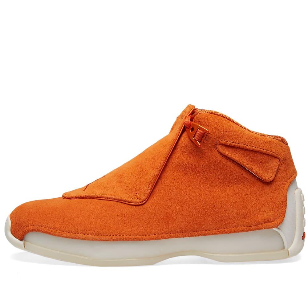 0982efaa90ab Air Jordan 18 Retro Campfire Orange