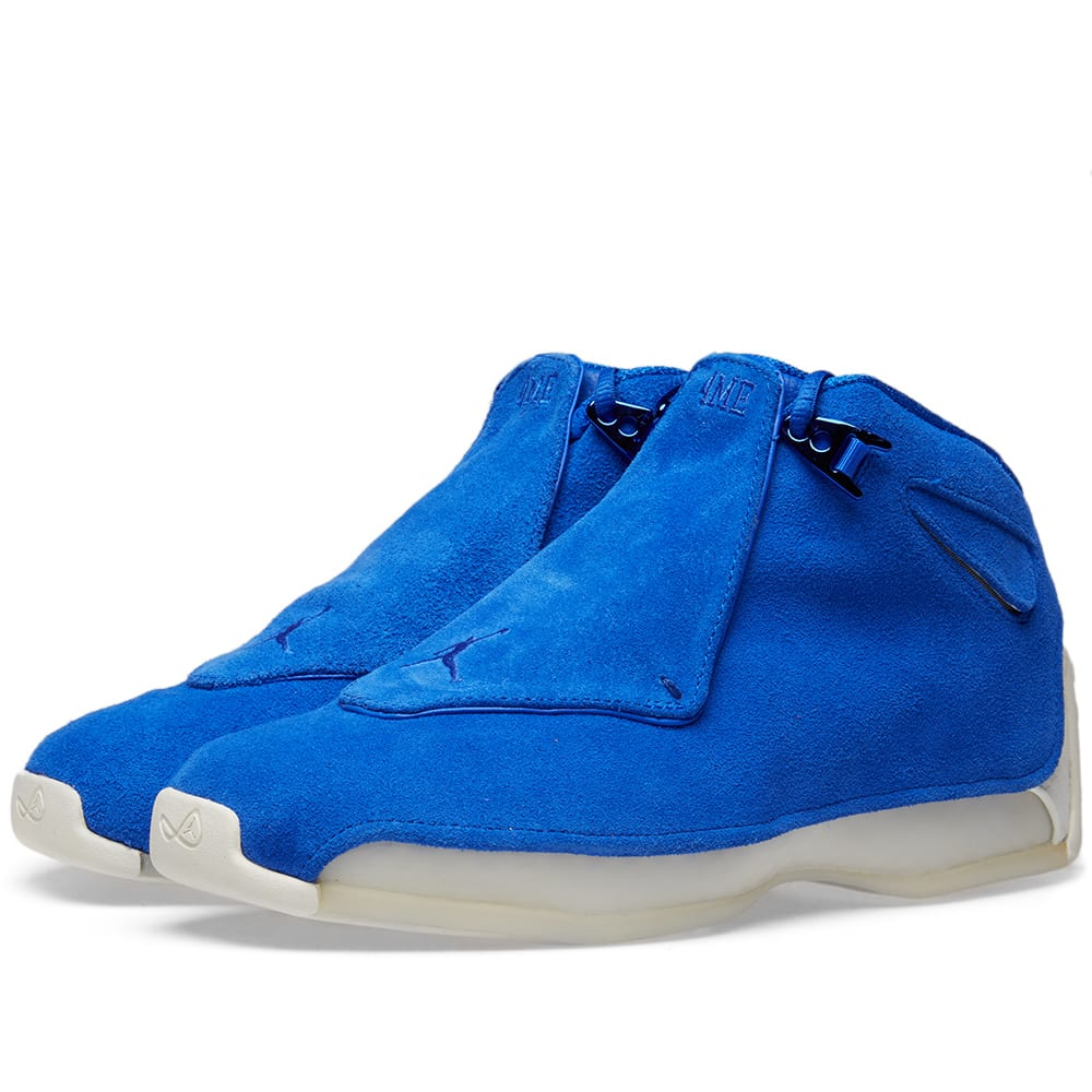 109dba5dc4a Air Jordan 18 Retro Racer Blue | END.