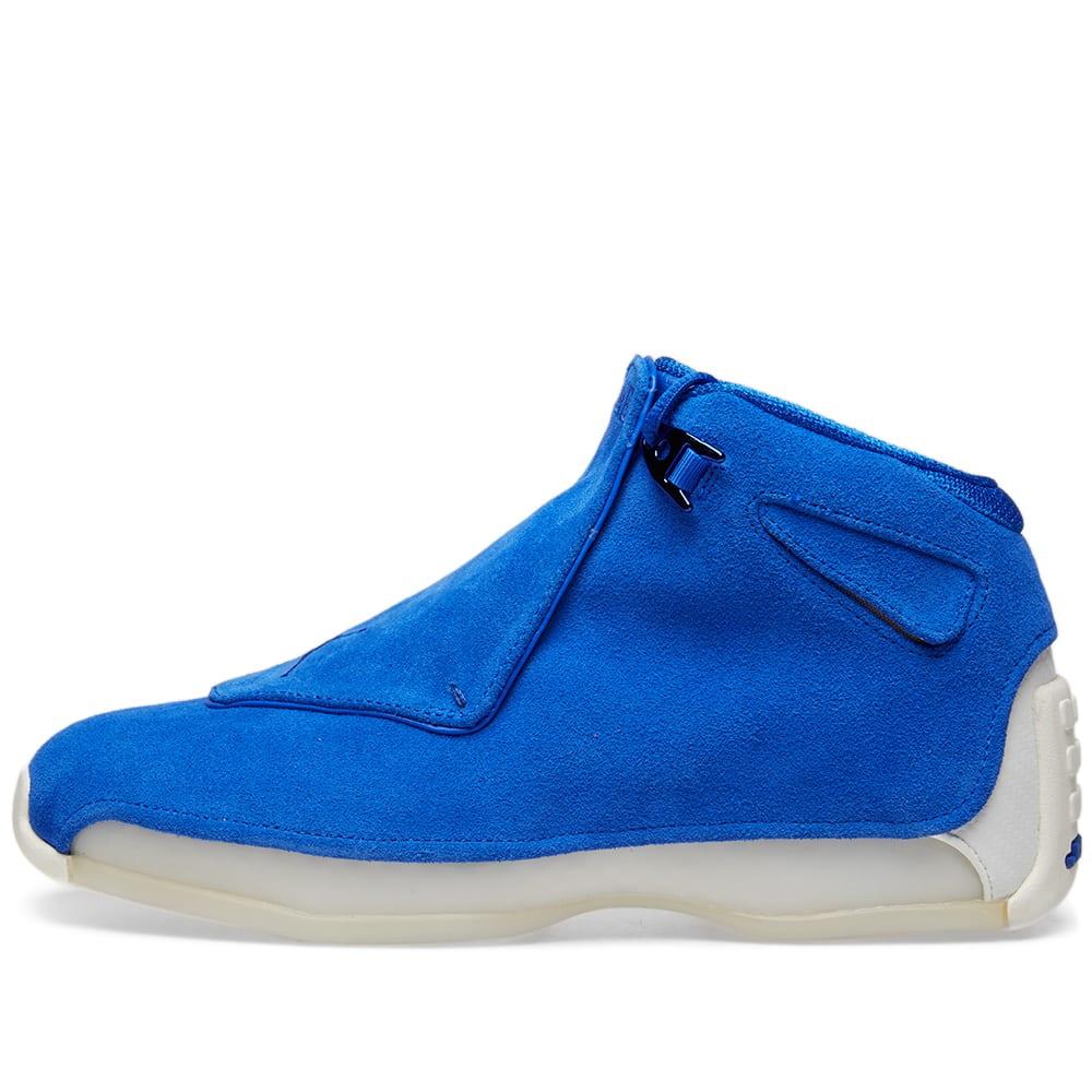 f4bb66f3af26 Air Jordan 18 Retro Racer Blue