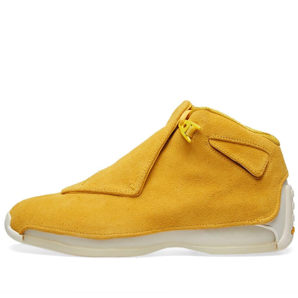 outlet store 87097 74e27 Air Jordan 18 Retro Yellow Ochre   END.