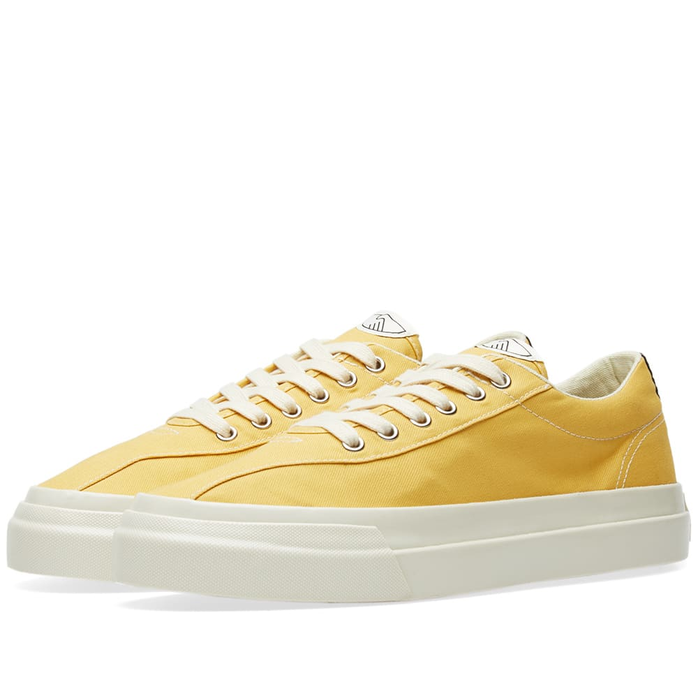 STEPNEY WORKERS CLUB Stepney Workers Club Dellow Canvas Sneaker in Yellow