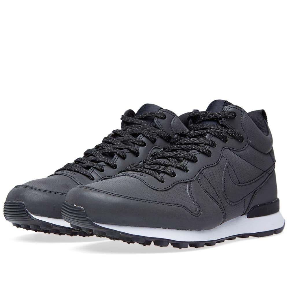 reputable site b6ba0 83f79 Nike Internationalist Mid Black   END.