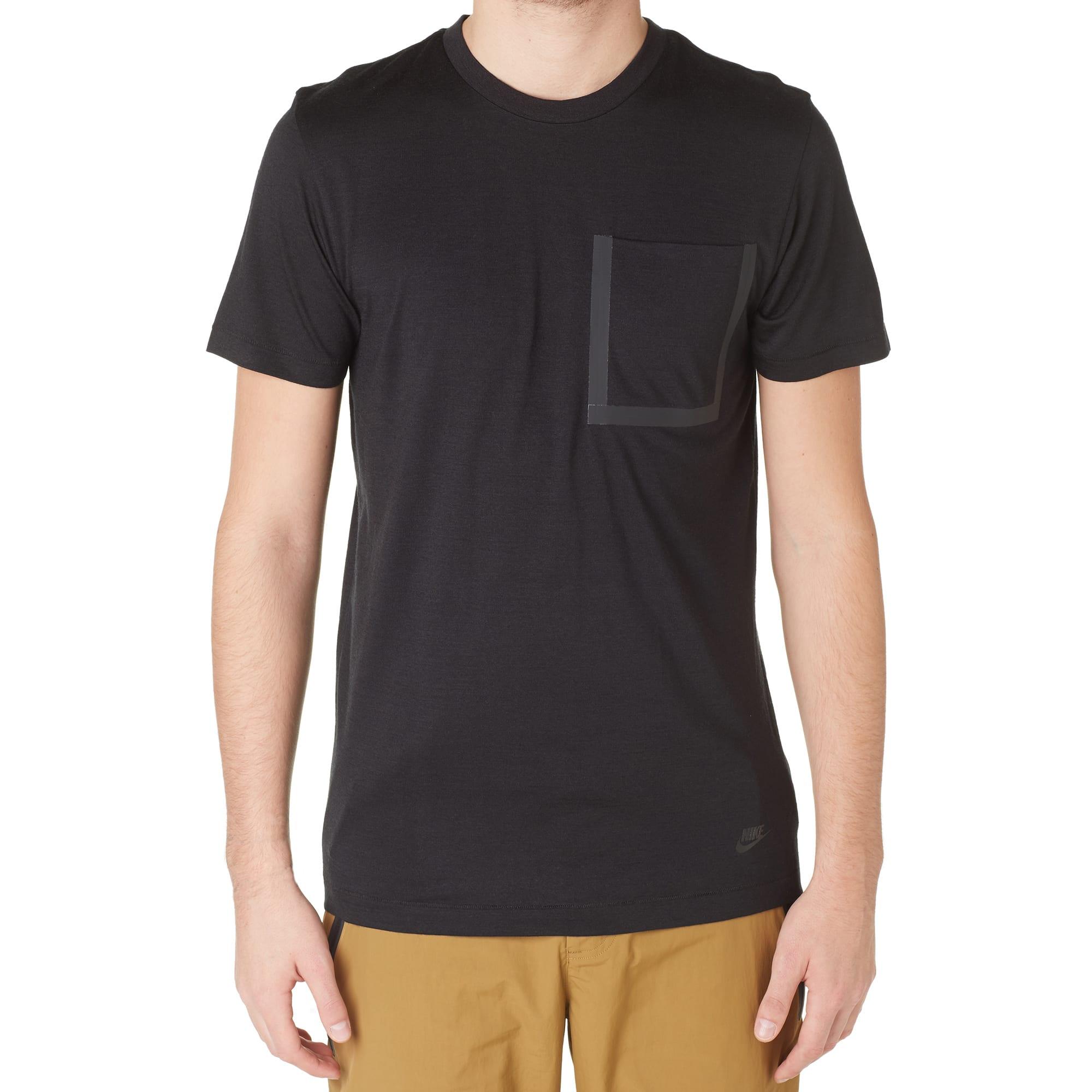 Nike White Label Pocket Tee (Black