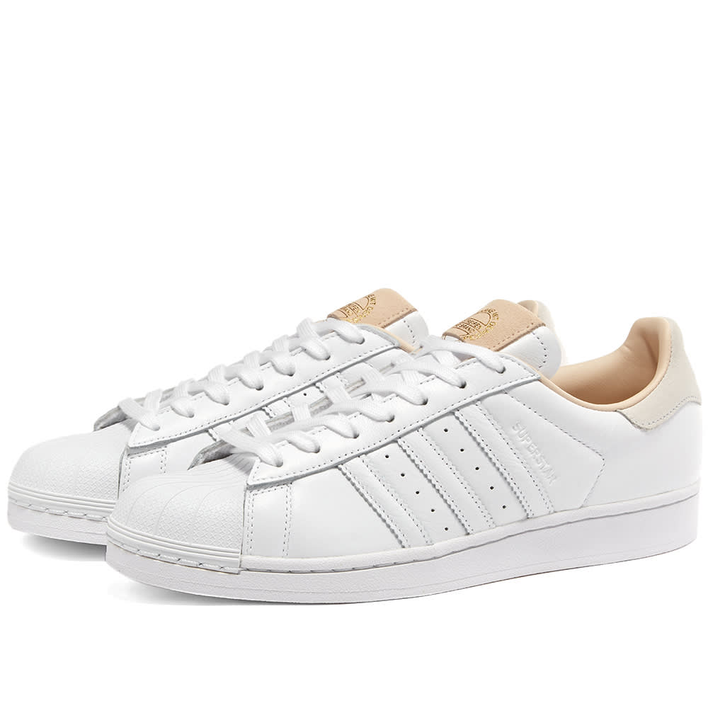 Adidas Superstar Lux Leather White