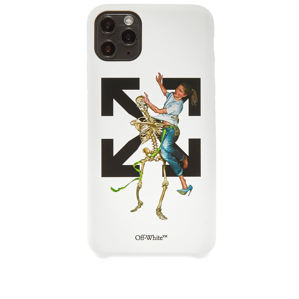 Off-White Pascal Skeleton iPhone 11 Pro Max Case