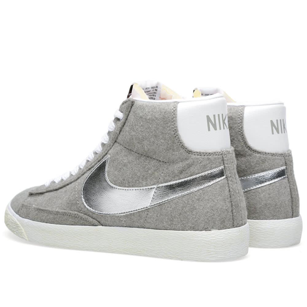 sports shoes 23897 8b4d9 Nike x Beams Blazer Mid PRM VNTG QS Granite   Metallic Silver   END.