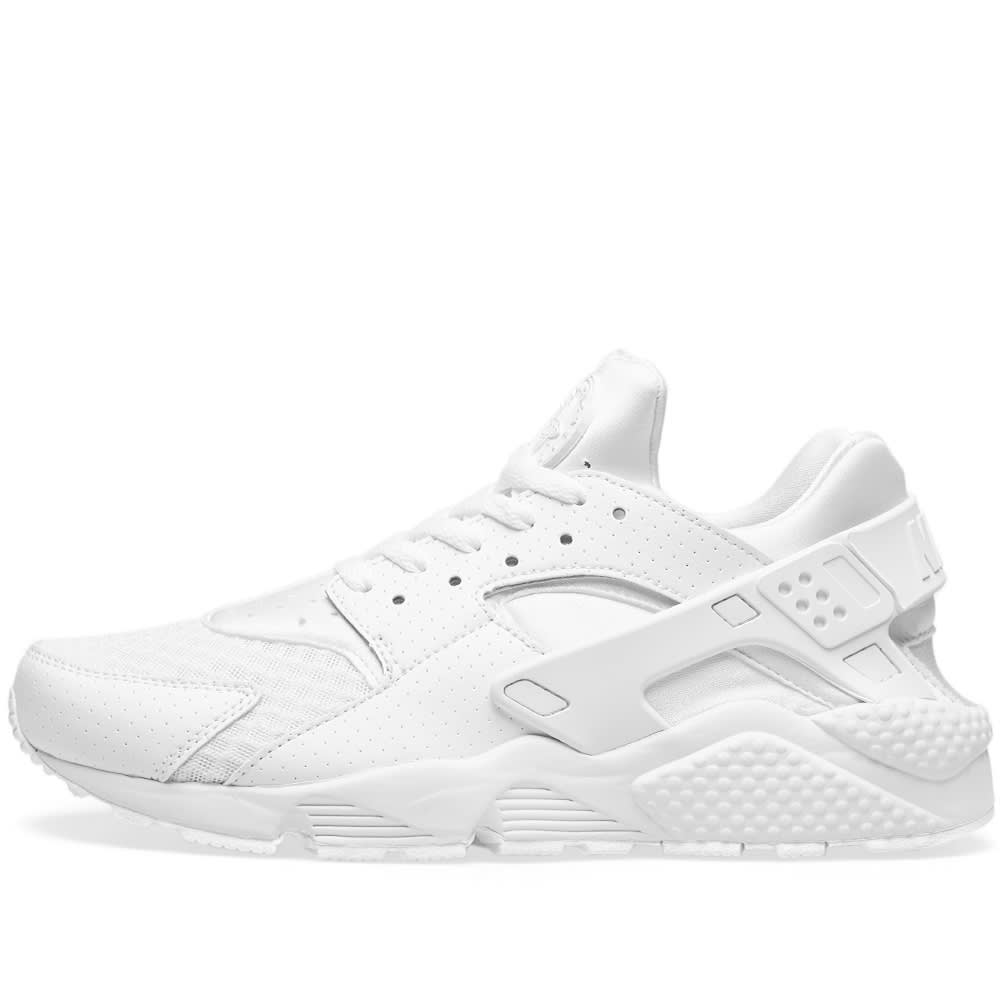 lowest price b4a41 250be Nike Air Huarache  Triple White  Triple White   END.
