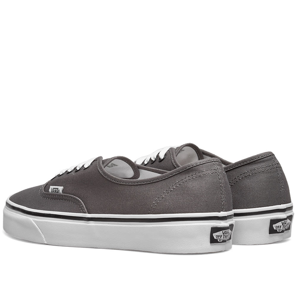 956a04c58f Vans UA Authentic Pewter   Black