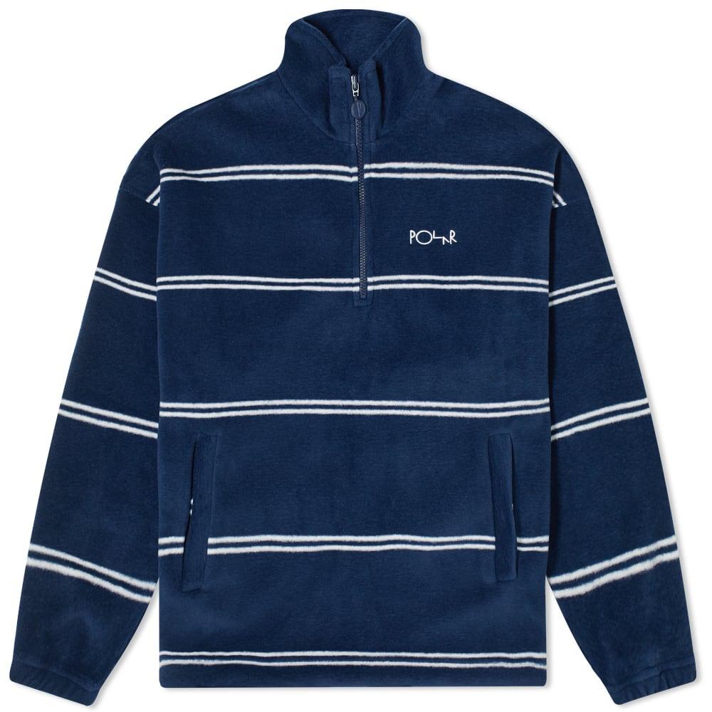 Polar Skate Co. Stripe Fleece Pullover 2.0 by Polar Skate Co.