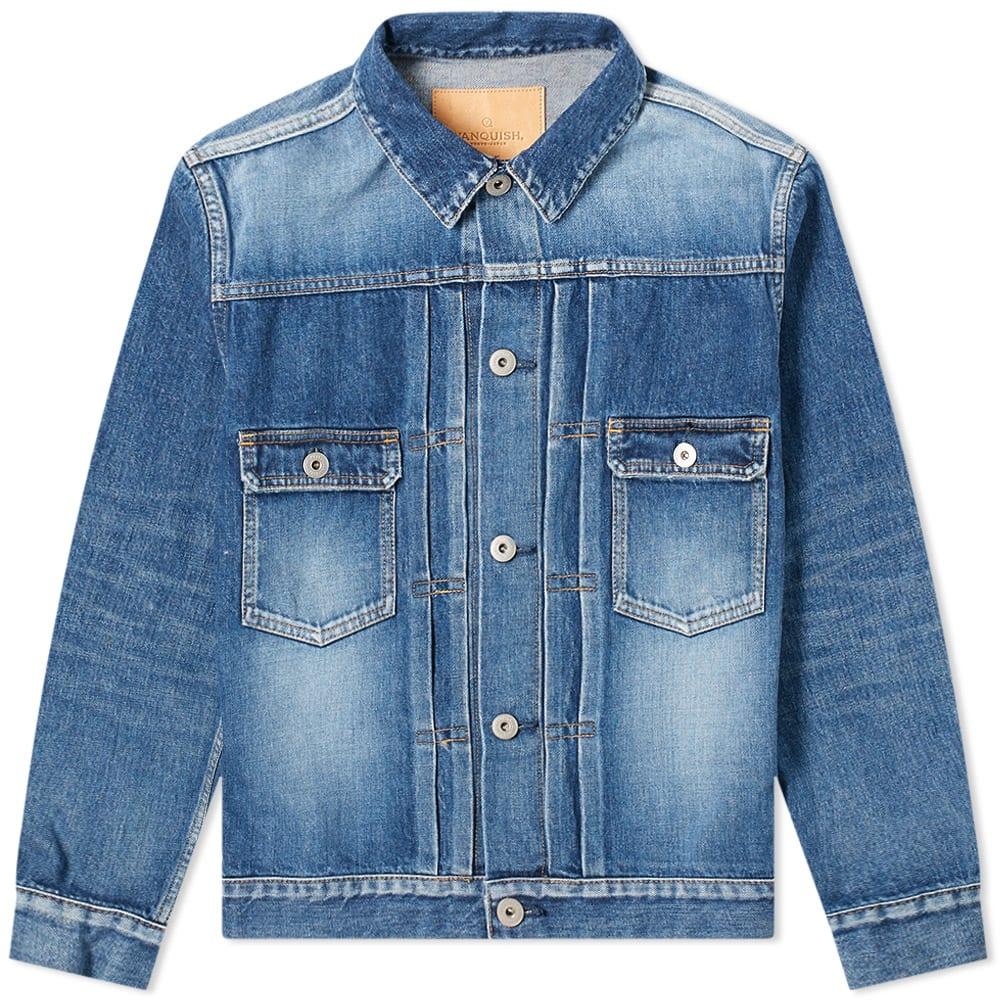 Vanquish Denim Jacket In Blue