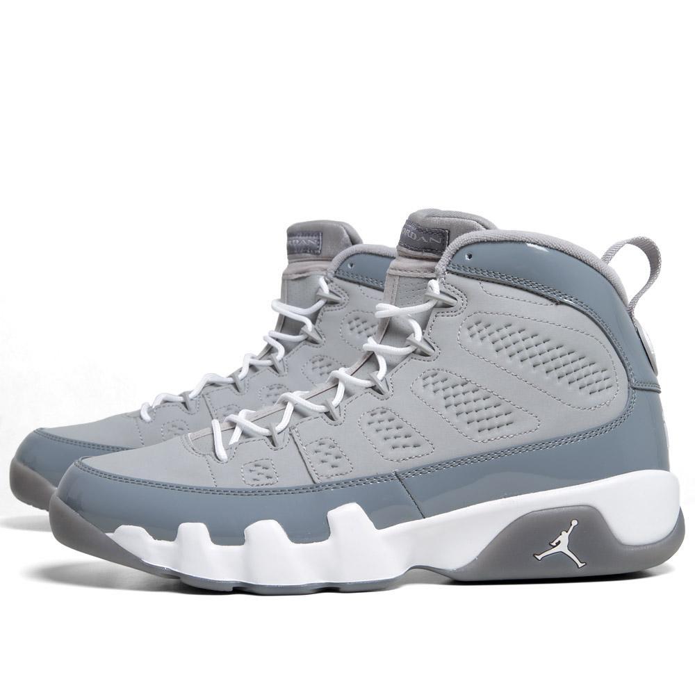5315751612a Nike Air Jordan IX Retro  Cool Grey  Medium Grey