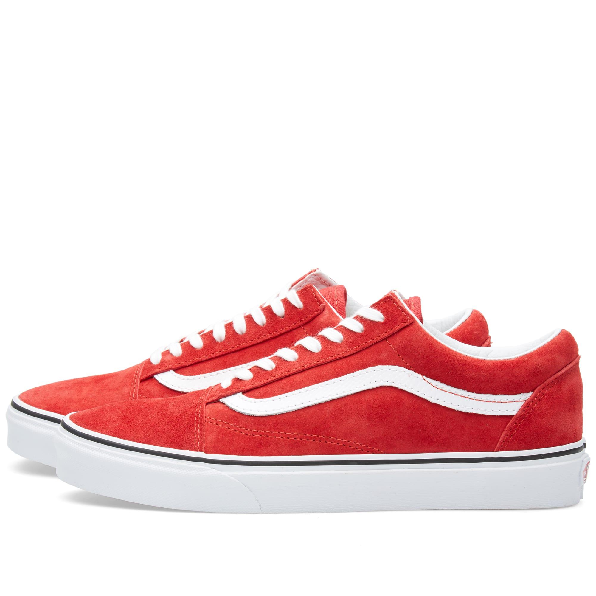 1ffb8f674c1f Vans Old Skool Racing Red   Snake