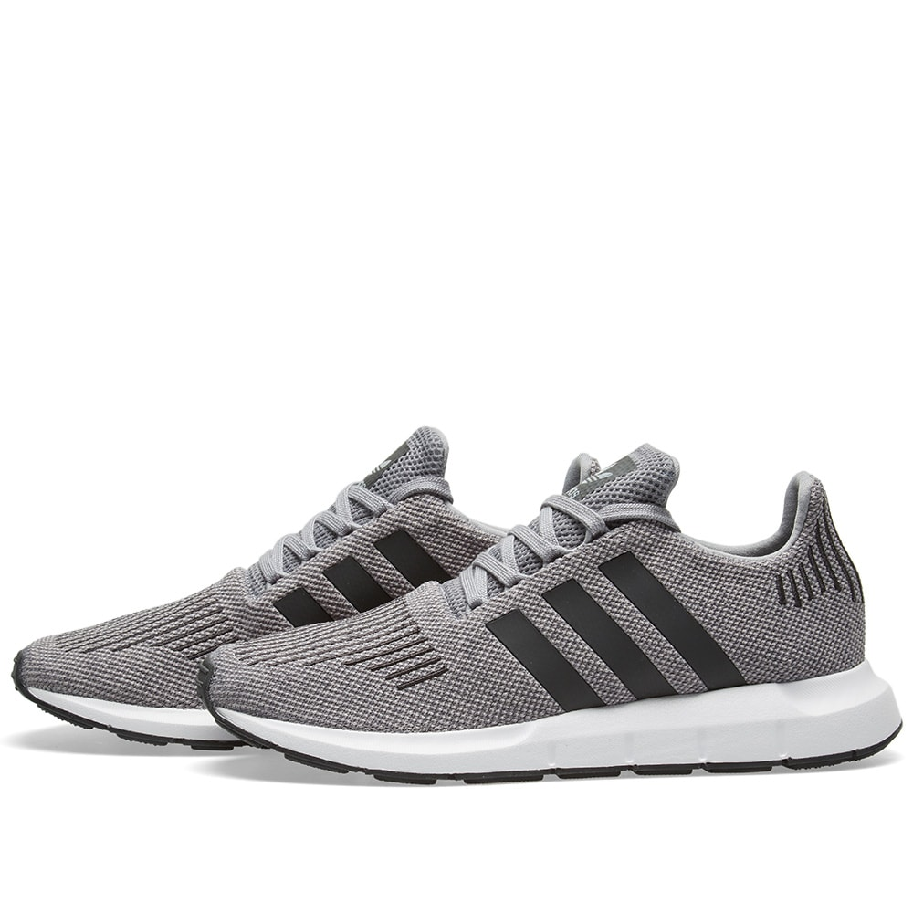 2876996ec Adidas Swift Run Grey Two