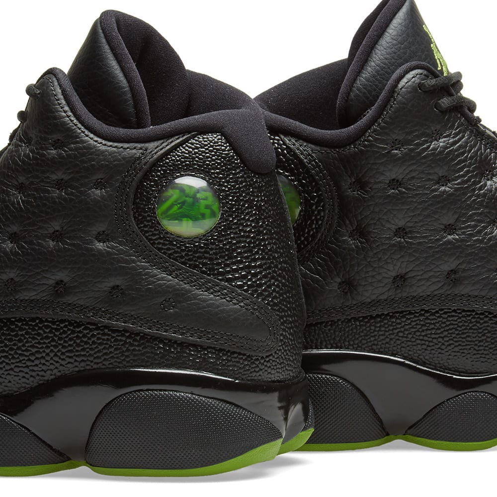 save off 1f1e7 49123 Nike Air Jordan 13 Retro OG Black   Altitude Green   END.