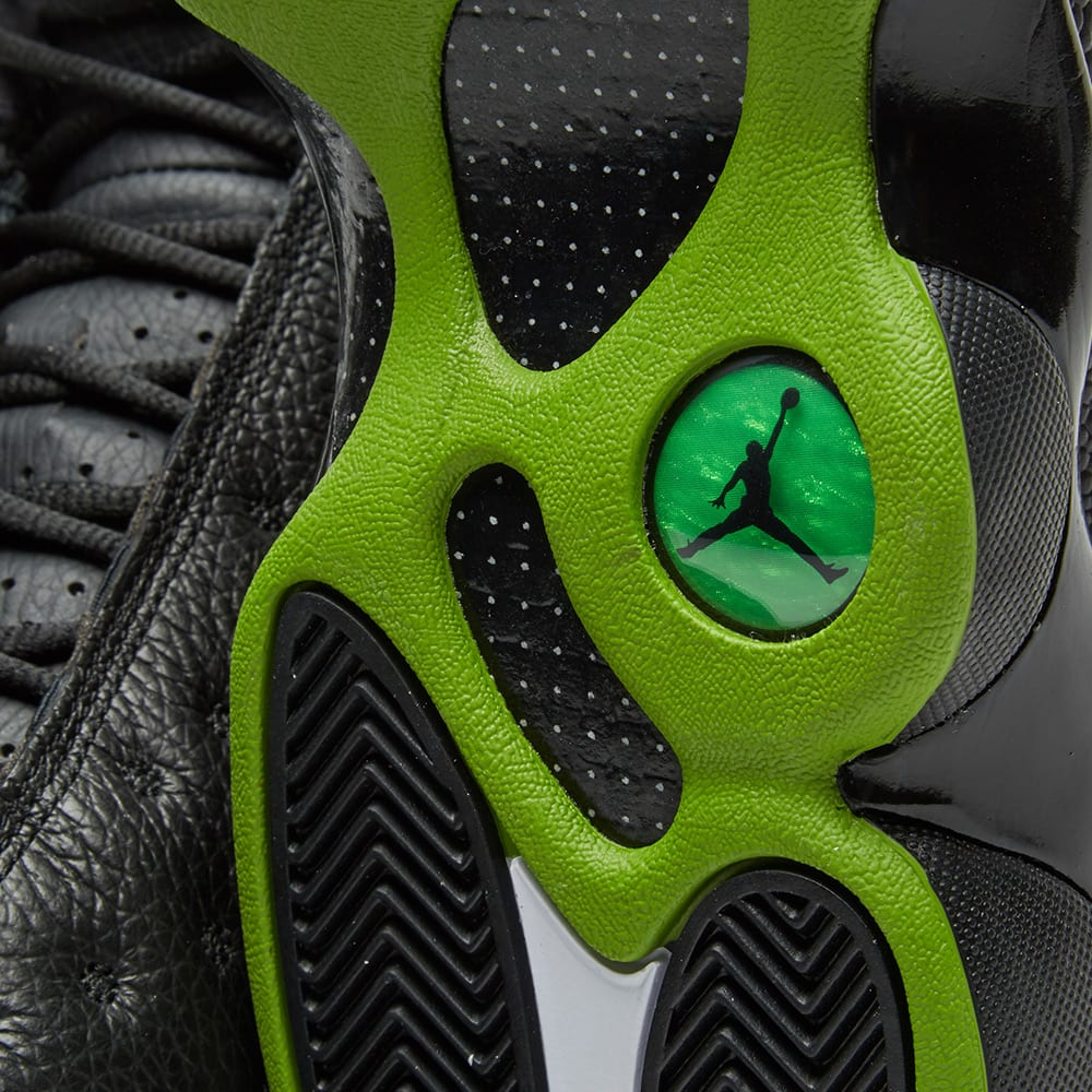 0ed0a96bc4d Nike Air Jordan 13 Retro OG. Black & Altitude Green