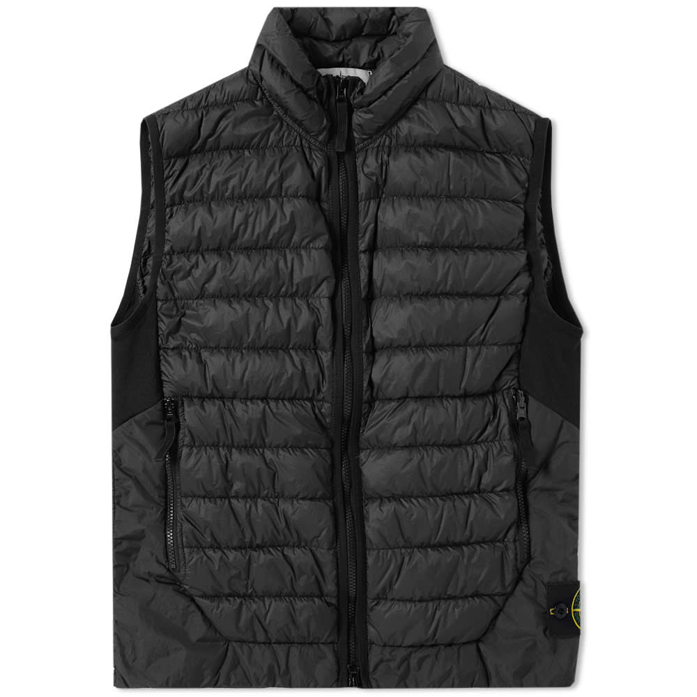Stone Island Garment Dyed Micro Yarn Down Packable Gilet