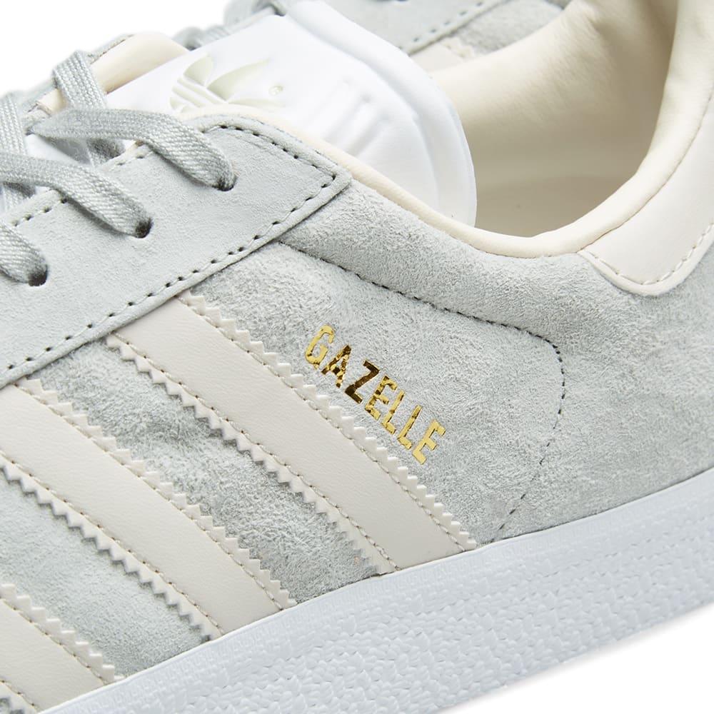 Adidas Gazelle W Ash Silver, Clear