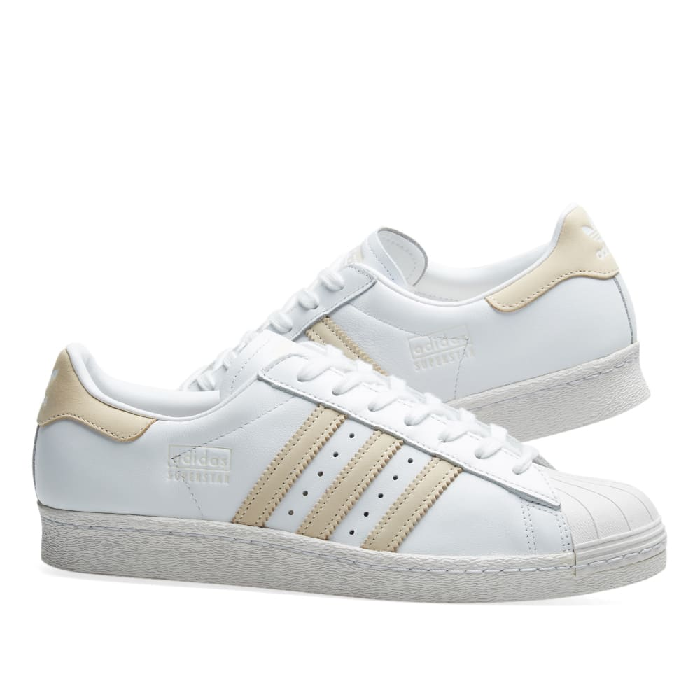36e23a6ee28 Adidas Superstar 80s White, Ecru Tint & Crystal | END.