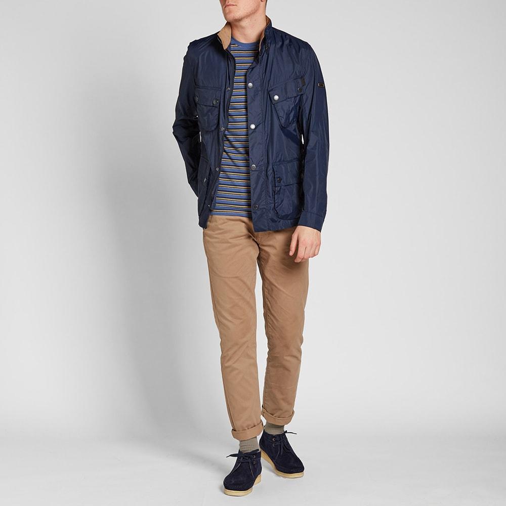 Black Friday barbour jacket in lightweight nylon international