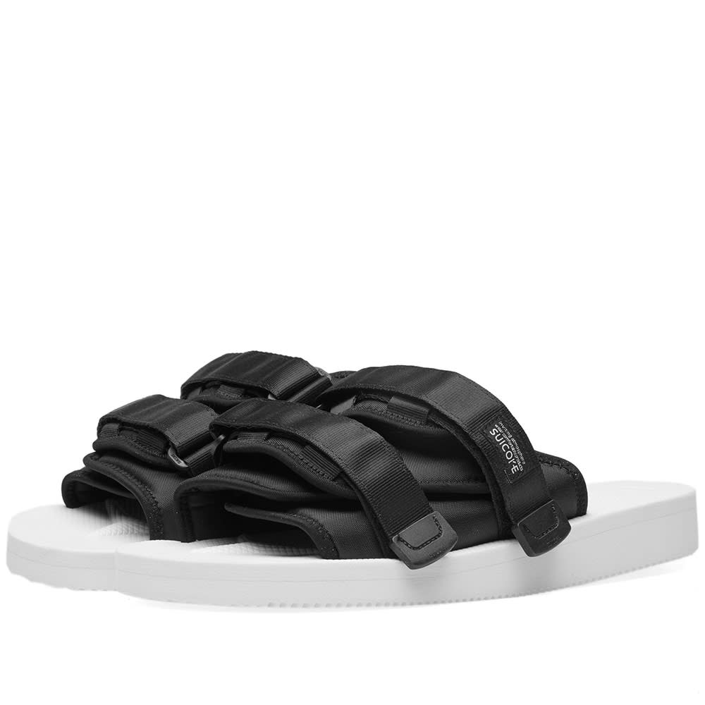 58f5ee3f25e John Elliott x Suicoke Sandals. White & Black