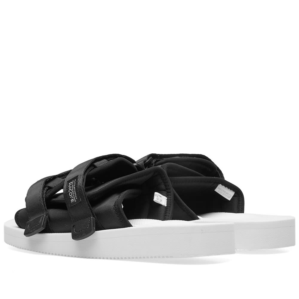 c5e402464eb John Elliott x Suicoke Sandals White & Black | END.