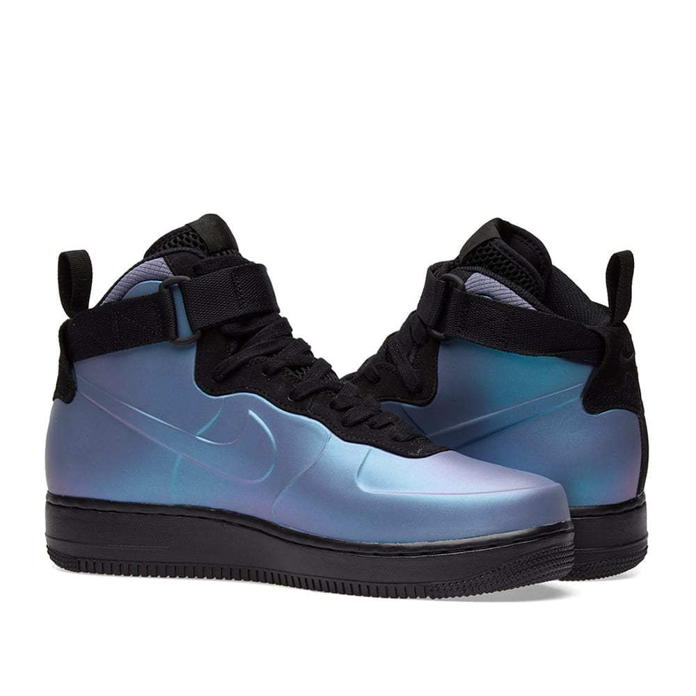 36380fbf15a09 Nike Air Force 1 Foamposite Cup Light Carbon   Black