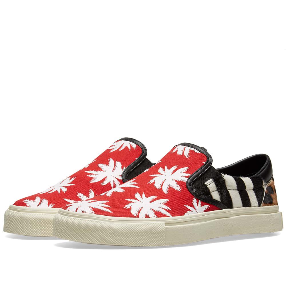 Patchwork Sneaker Slip On Amiri Palm clK1FJ