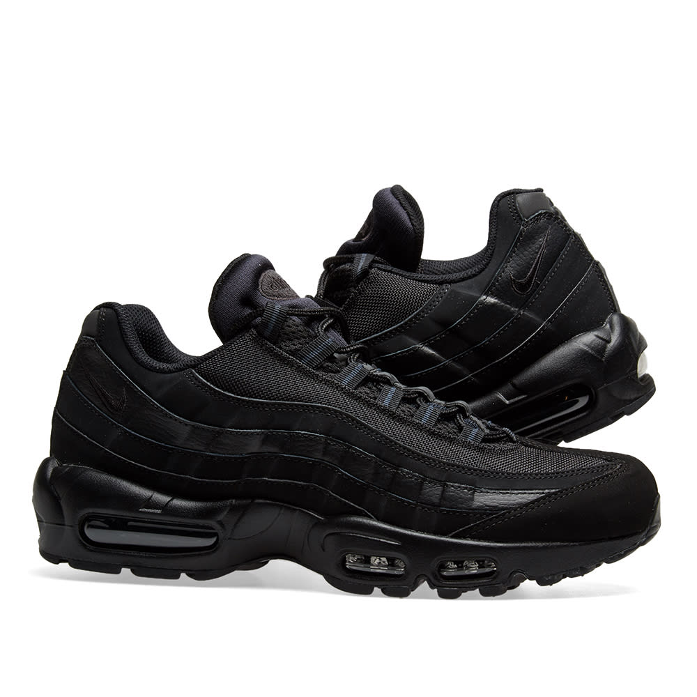 detailed look 4dfd9 07ce4 Nike Air Max 95 Black   Anthracite   END.