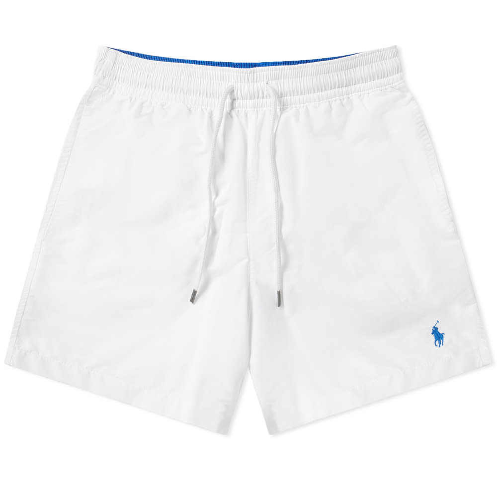 0cbdb6f2ca Polo Ralph Lauren Classic Traveller Swim Short White | END.