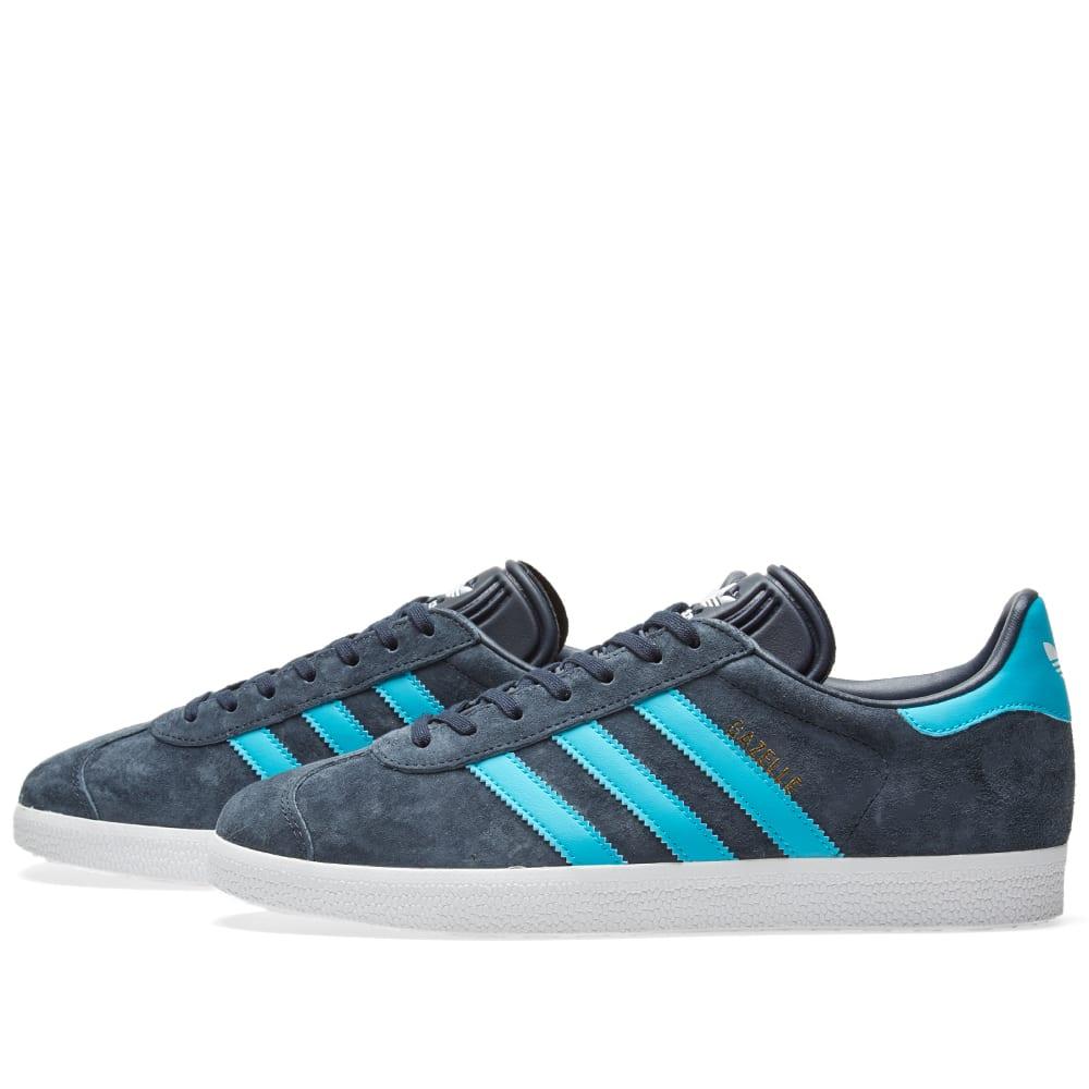Adidas Gazelle Legend Ink \u0026 Energy Blue