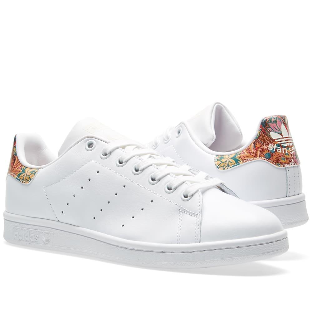 adidas stan smith floral