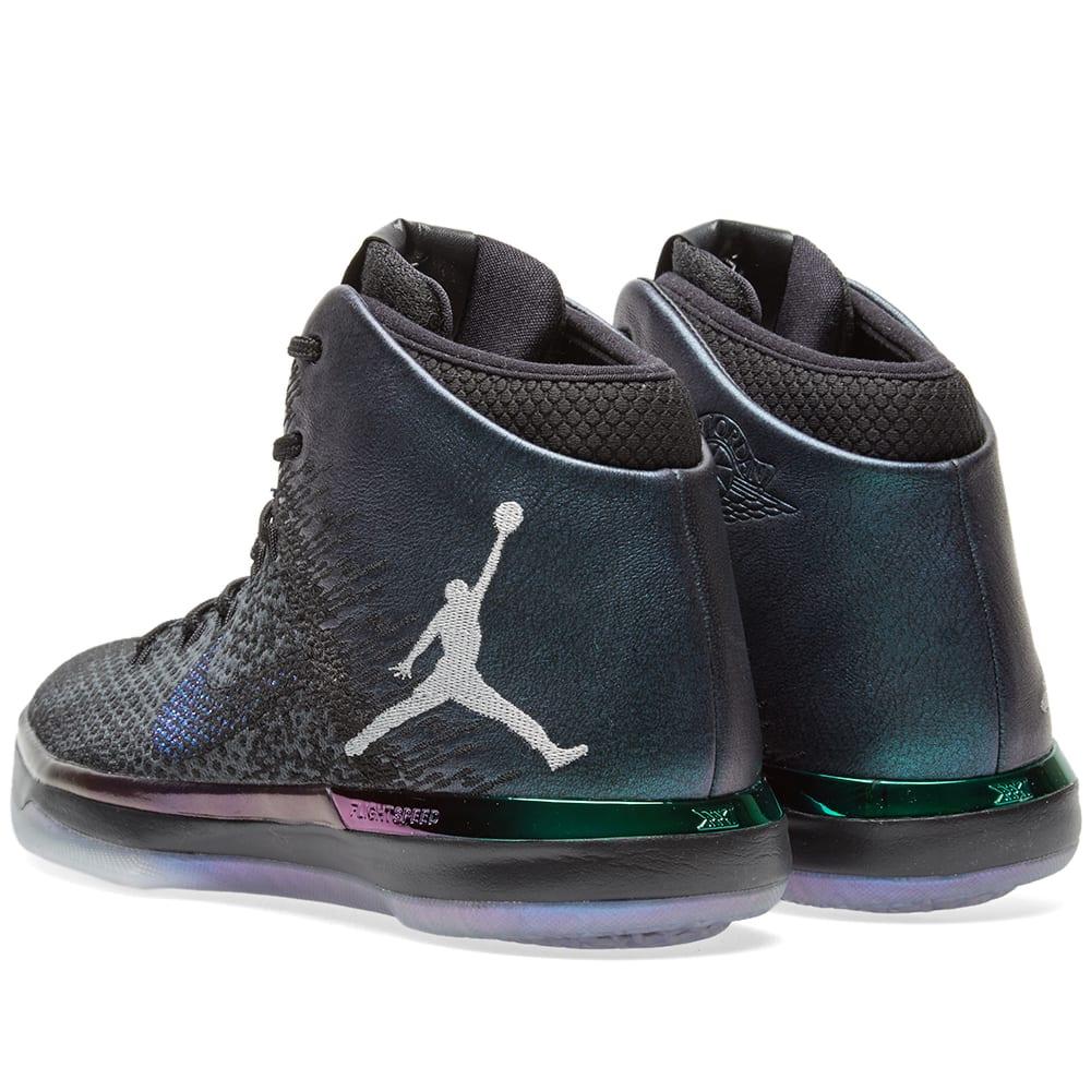 607702f775f9 Nike Air Jordan 31 ASW  All Star  Black   Metallic Silver